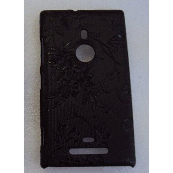 Эксклюзивный пластиковый дизайнерский чехол с аппликацией ручной работы серия Природа для Nokia Lumia 925