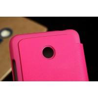 Чехол горизонтальная книжка для Nokia Lumia 630 Пурпурный
