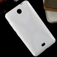 Силиконовый X чехол для Microsoft Lumia 430 Dual SIM Белый