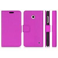 Чехол портмоне-подставка для Nokia Lumia 630 Фиолетовый