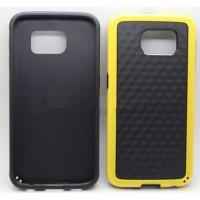 Гибридный силиконовый чехол с поликарбонатной крышкой для Samsung Galaxy S6 Желтый