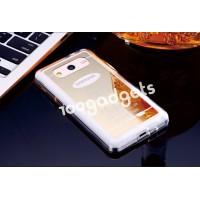 Силиконовый дизайнерский чехол с принтом Golden Case для Samsung Galaxy Core 2