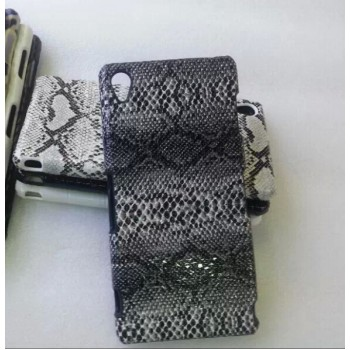Эксклюзивный пластиковый дизайнерский чехол с аппликацией ручной работы серия Природа для Sony Xperia Z3