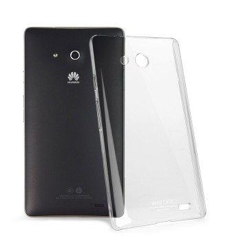 Транспарентный пластиковый чехол для Huawei Ascend Mate