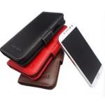 Кожаный чехол портмоне (нат. кожа) для Huawei Ascend Mate