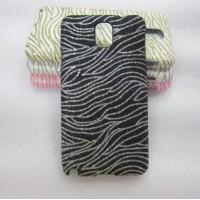 Эксклюзивный пластиковый дизайнерский чехол с аппликацией ручной работы серия Флора для Samsung Galaxy Note 3 Черный