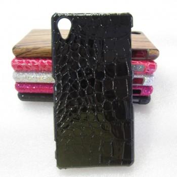 Эксклюзивный пластиковый дизайнерский чехол с аппликацией ручной работы серия Природа для Sony Xperia Z1