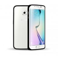 Металлический бампер для Samsung Galaxy S6 Edge Черный