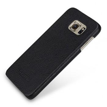 Кожаный чехол накладка (нат. кожа) для Samsung Galaxy S6