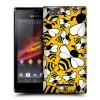 Пластиковый чехол с принтом для Sony Xperia M