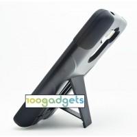 Антиударный силиконовый чехол с поликарбонатной крышкой и ножкой-подставкой для LG G3 (Dual-LTE)