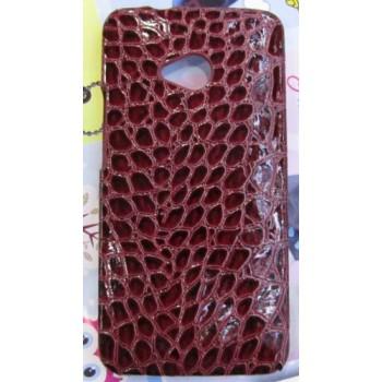 Эксклюзивный пластиковый дизайнерский чехол с аппликацией ручной работы серия Природа для HTC One (М7)