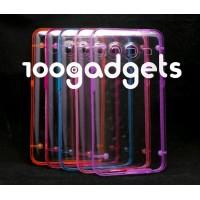 Гибридный транспарентный флуоресцентный чехол силикон/поликарбонат для Samsung Galaxy Core 2