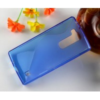 Силиконовый S чехол для LG Magna Синий