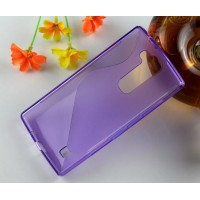 Силиконовый S чехол для LG Magna Фиолетовый