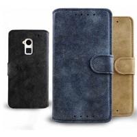 Винтажный чехол-портмоне подставка для HTC One Max
