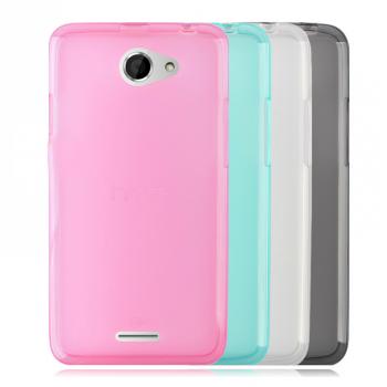 Силиконовый полупрозрачный чехол для HTC Desire 516