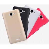 Пластиковый премиум матовый чехол для HTC Desire 516