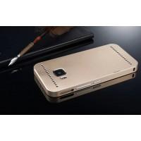 Металлический чехол для HTC One M9 Бежевый