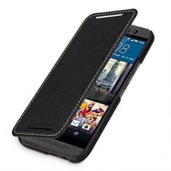 Кожаный чехол горизонтальная книжка (нат. кожа) для HTC One M9