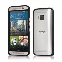 Металлический бампер для HTC One M9 Черный