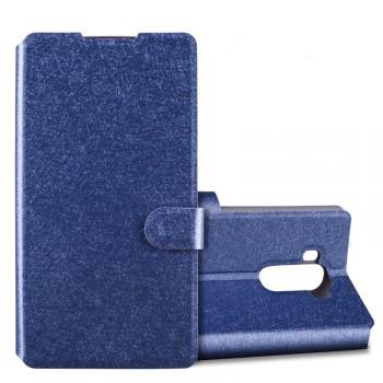 Текстурный чехол флип подставка с защелкой на пластиковой основе для LG G4