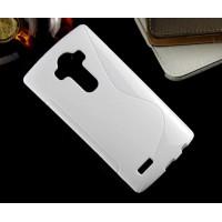 Силиконовый S чехол для LG G4 Белый