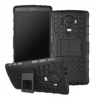 Силиконовый чехол экстрим защита для LG G4 Черный
