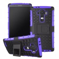 Силиконовый чехол экстрим защита для LG G4 Синий