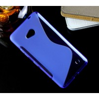 Силиконовый S чехол для Microsoft Lumia 640 Синий
