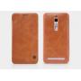 Кожаный чехол флип для Asus Zenfone 2