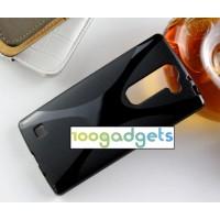 Силиконовый X чехол для LG Magna Черный