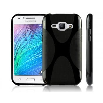 Силиконовый X чехол для Samsung J1