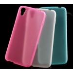 Силиконовый матовый полупрозрачный чехол для Alcatel One Touch Idol 3 (4.7)