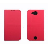 Чехол флип подставка на силиконовой основе для Acer Liquid Jade Z Розовый