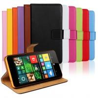 Чехол портмоне подставка с защелкой для Microsoft Lumia 640 XL