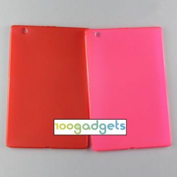 Силиконовый матовый полупрозрачный чехол для Sony Xperia Z4 Tablet