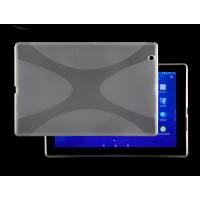 Силиконовый матовый X чехол для Sony Xperia Z4 Tablet