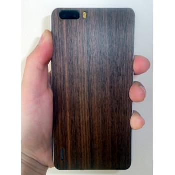 Ультратонкая 0.8 мм деревянная клеевая накладка из пород ореха и сандала для Huawei Honor 6 Plus
