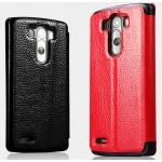Чехол флип глянцевая зернистая кожа для LG Optimus G3