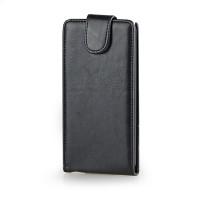 Чехол книжка вертикальная с магнитной защелкой для LG Optimus G3 Черный