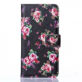 Дизайнерский чехол портмоне подставка с полноповерхностным принтом и застежкой для Sony Xperia M2 dual