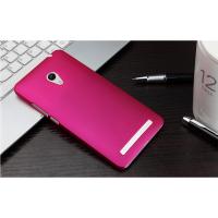 Пластиковый матовый непрозрачный чехол для ASUS Zenfone 5 Пурпурный