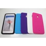 Силиконовый матовый непрозрачный чехол для Nokia Lumia 1320