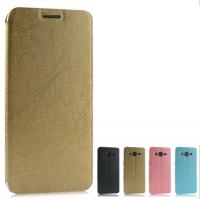 Текстурный чехол флип подставка на присоске для Samsung Galaxy Grand Prime