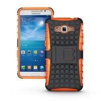 Силиконовый чехол экстрим защита для Samsung Galaxy Grand Prime Оранжевый