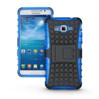 Силиконовый чехол экстрим защита для Samsung Galaxy Grand Prime Синий