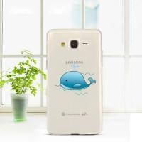 Силиконовый дизайнерский чехол с принтом для Samsung Galaxy Grand Prime