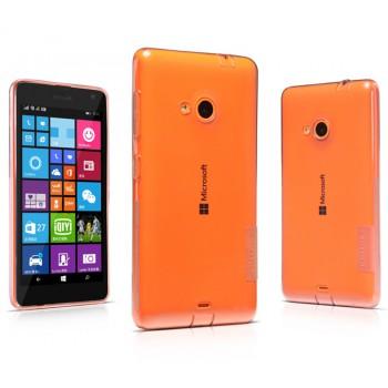 Силиконовый транспарентный чехол для Microsoft Lumia 535