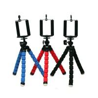Универсальный трипод-штатив на гибких ножках 10.5 см для гаджетов размах 55-85 мм для Sony Xperia Z5 (lte, dual, E6683, E6633, E6653, E6603)